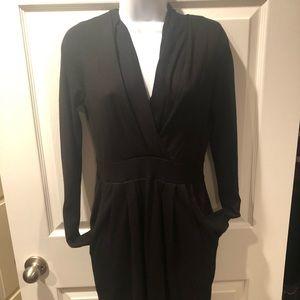 BCBG Black Sweater Dress
